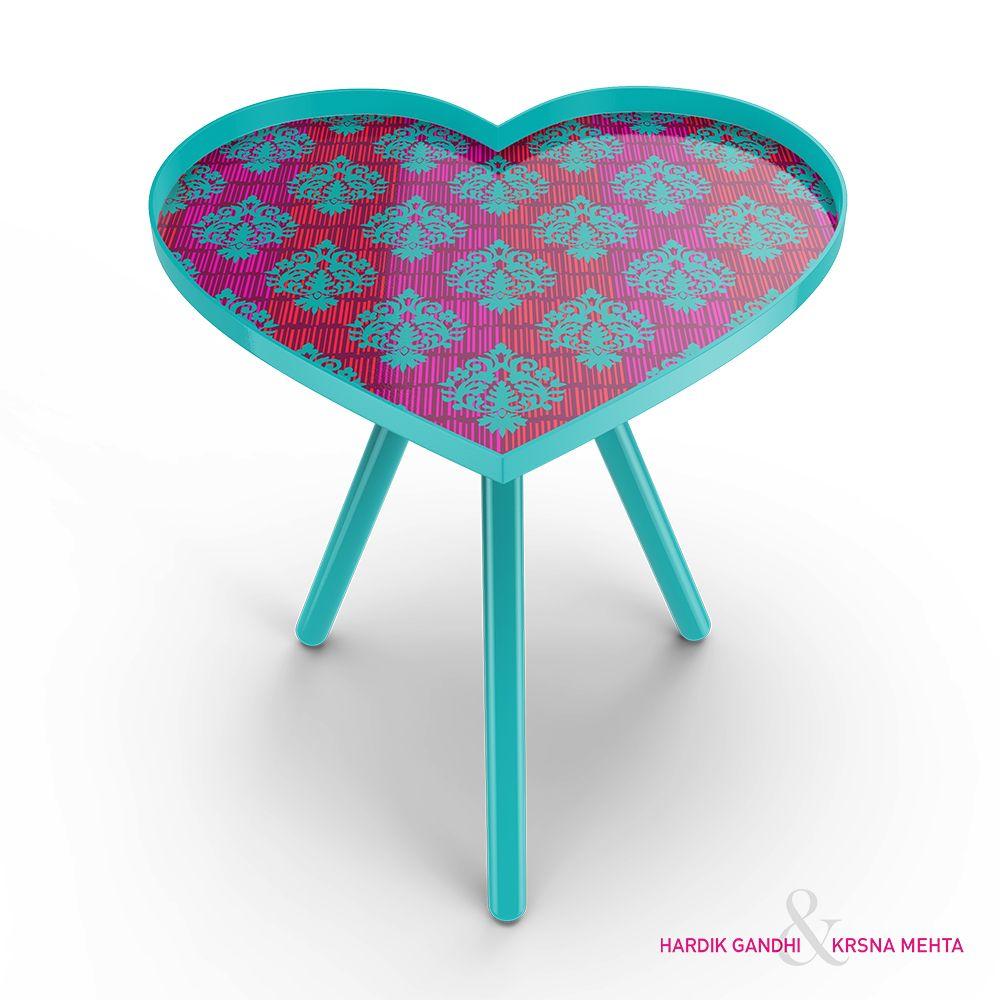 Buti Mania Heart Side Table