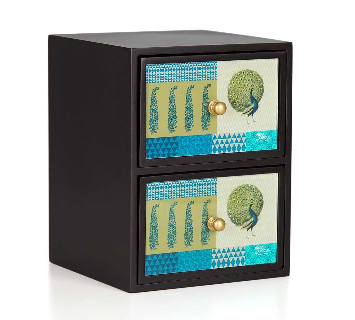 India Circus Call of the Wilderness Jewellery Chest Drawers