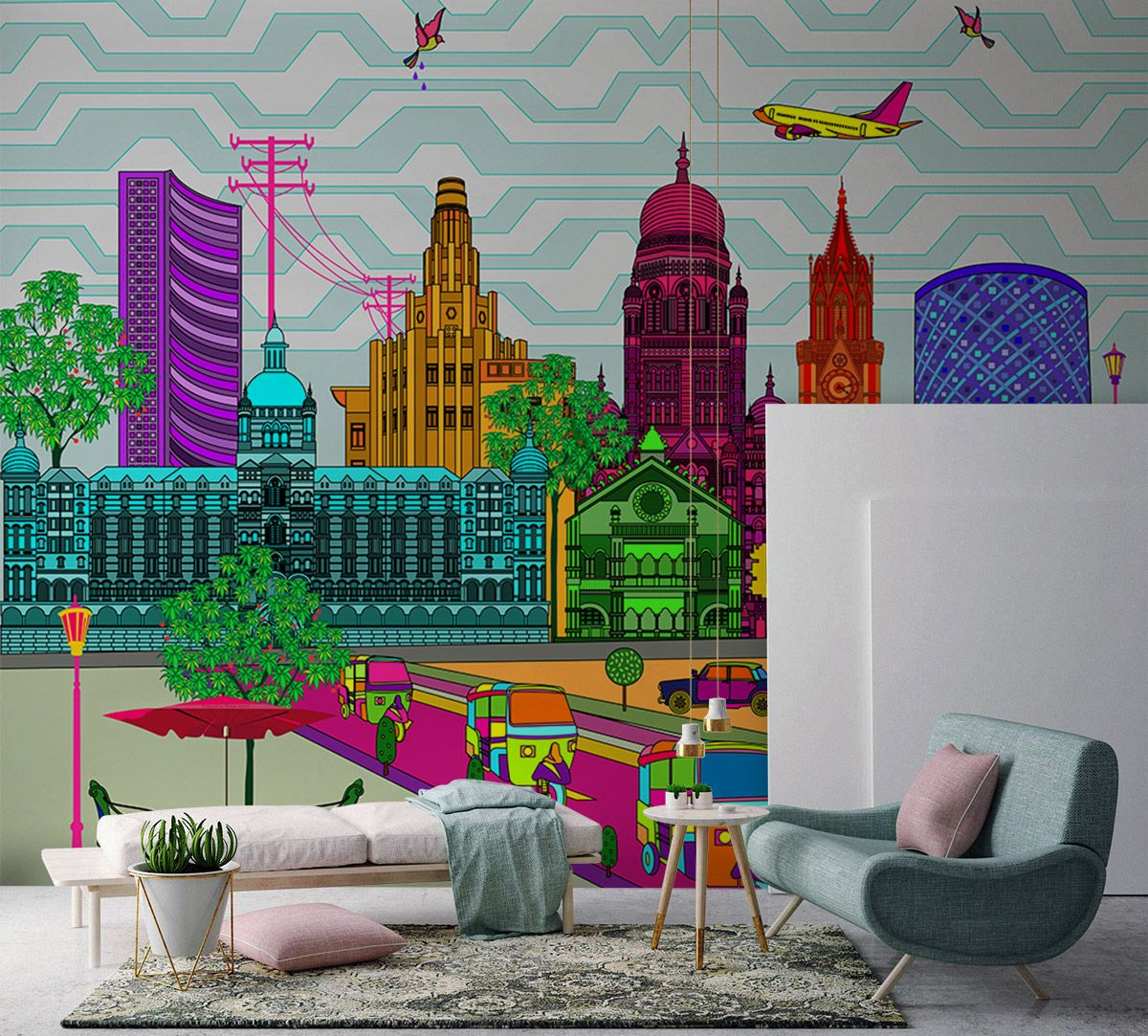 City Fever Vibrancy Wallpaper