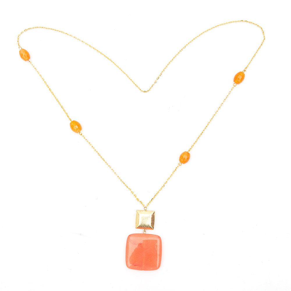Coral Capture Necklace