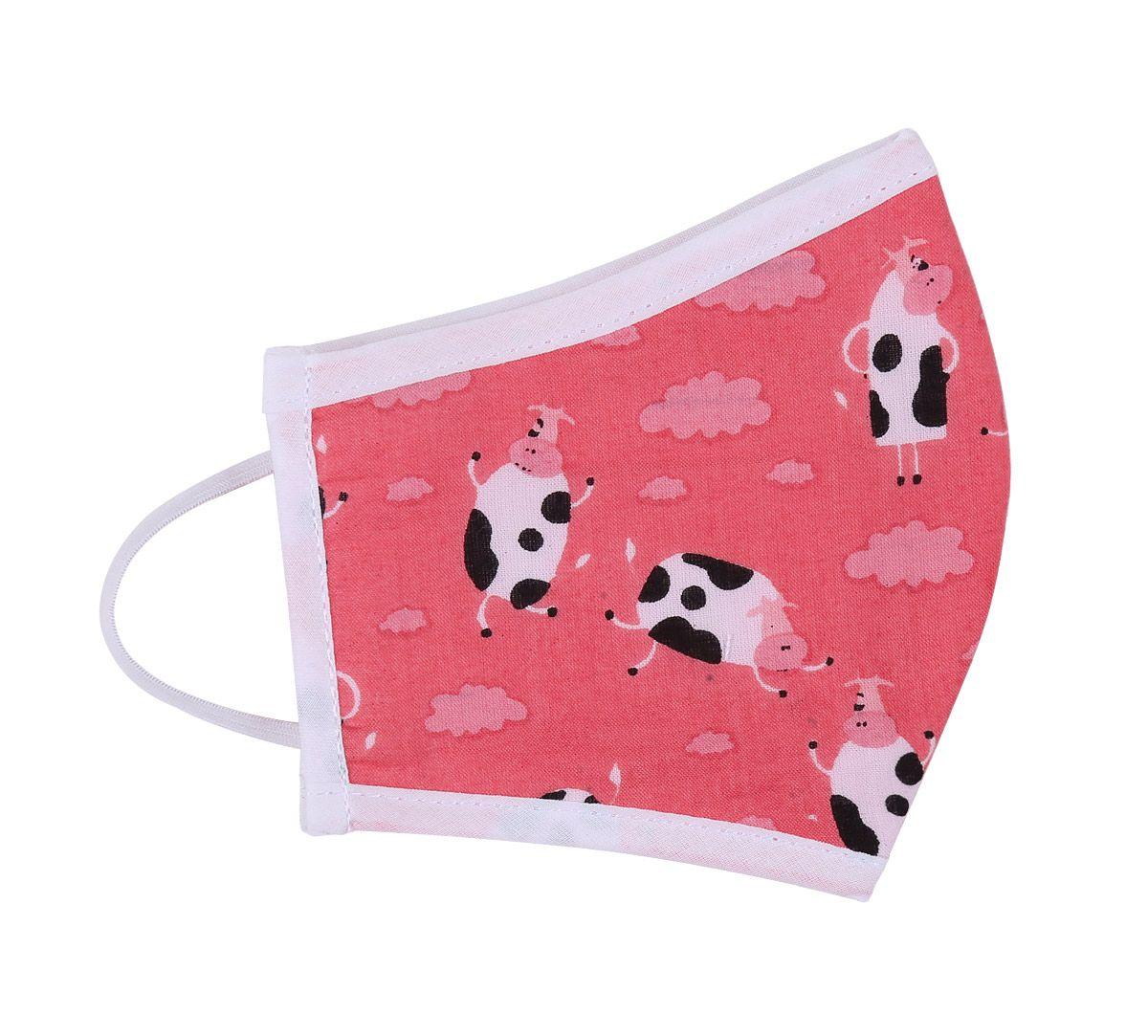 India Circus Cow Print Kids Protective Face Mask