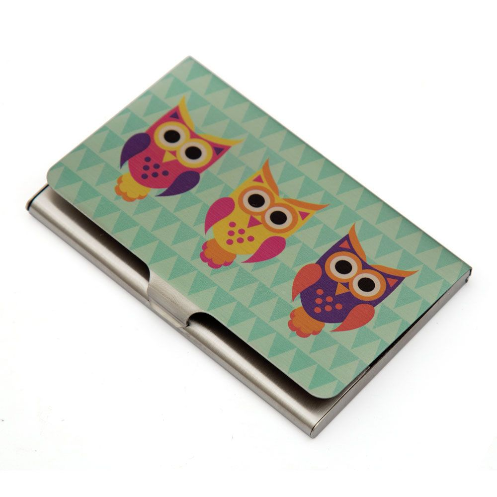 Disco Hedwig Visiting Card Holder