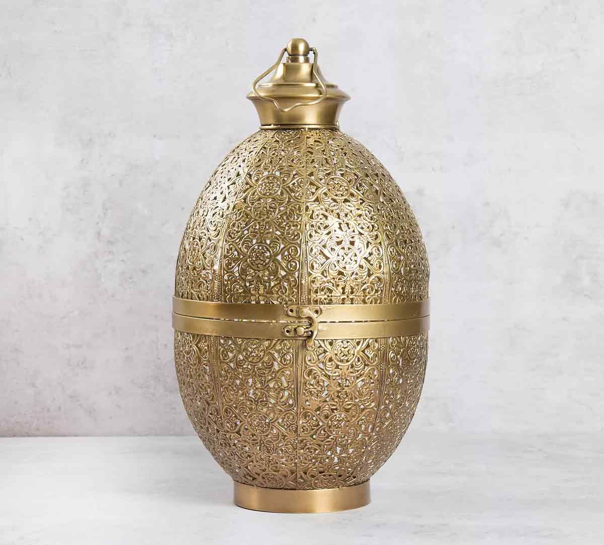 Eggshell Marrakesh Lantern