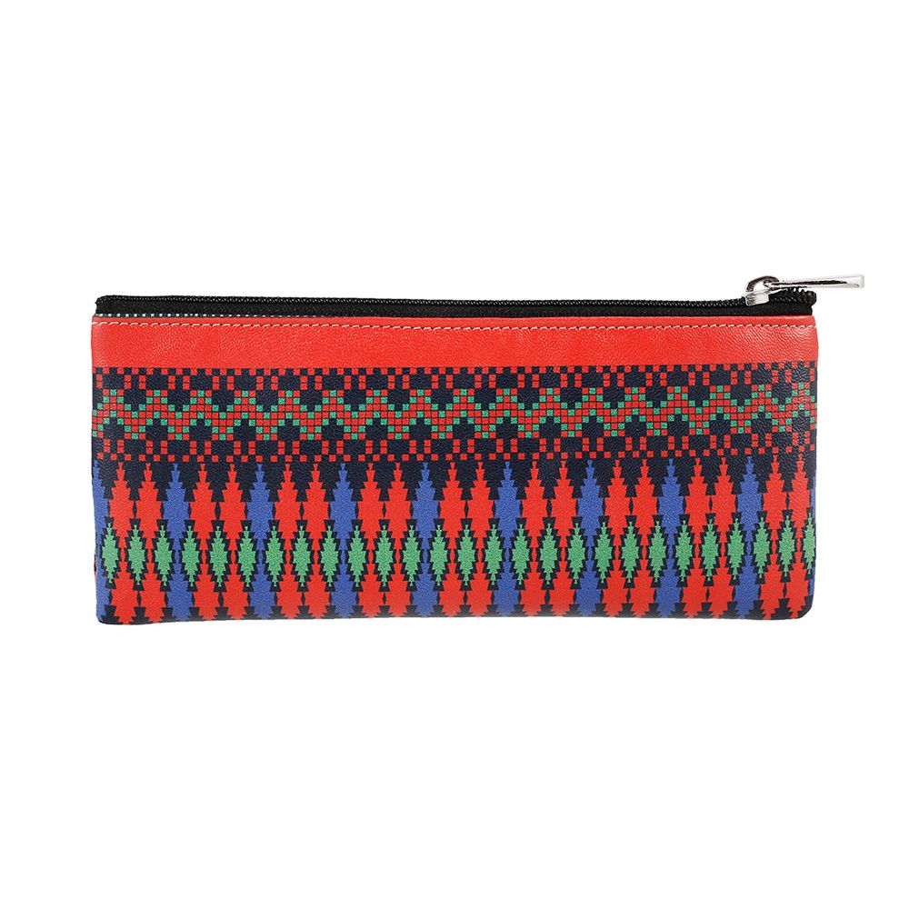 Exotic Ikkat Small Utility Pouch