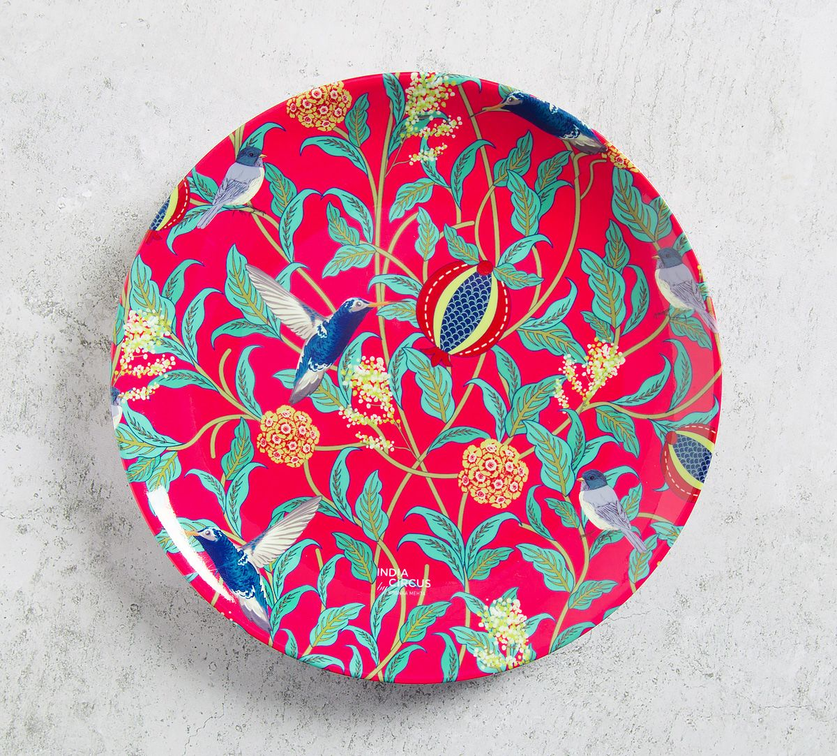 Flights of Vivers 8 inch Decorative and Snacks Platter