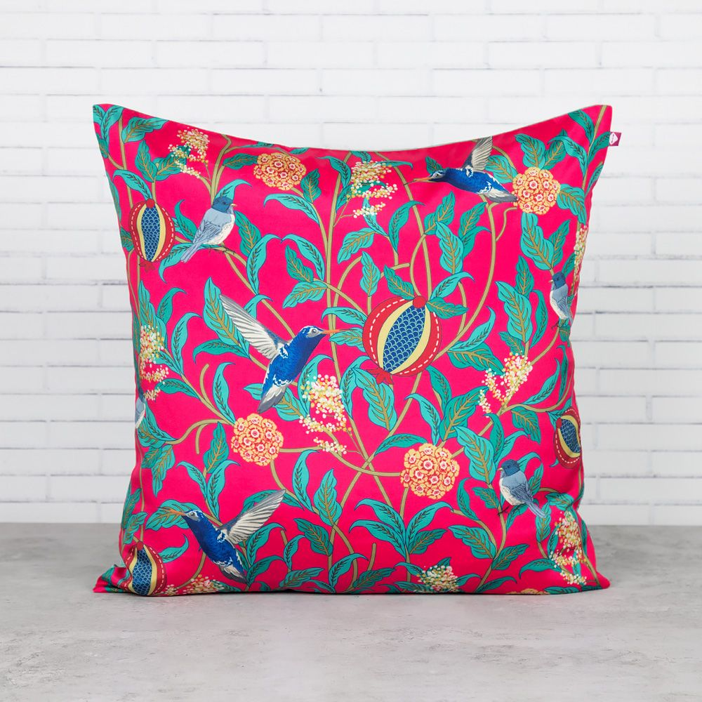 Flights of Vivers Blended Taf Slik Cushion Cover