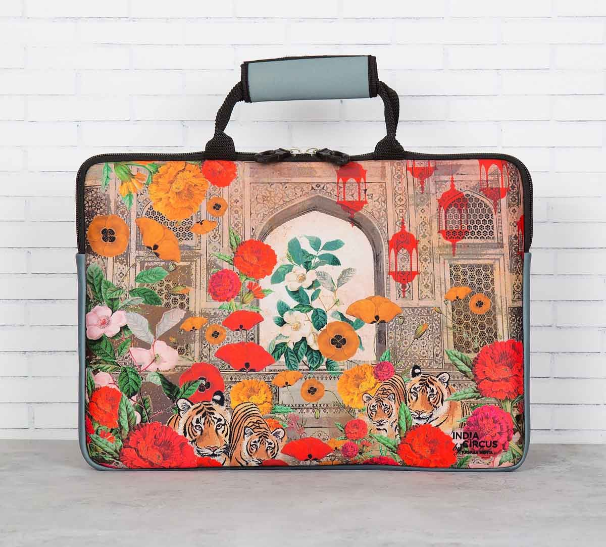 India Circus Floral Burst Laptop Sleeve and Bag