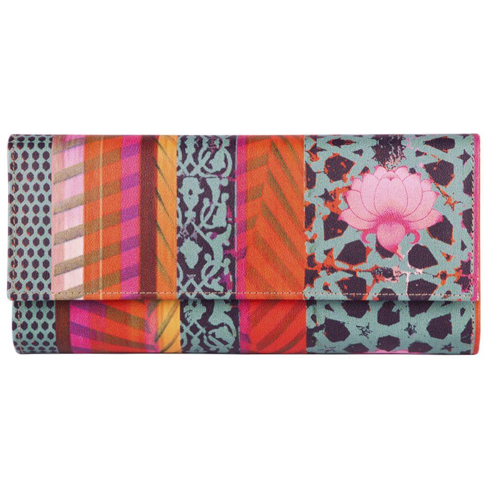 Flower Quill Ladies Wallet