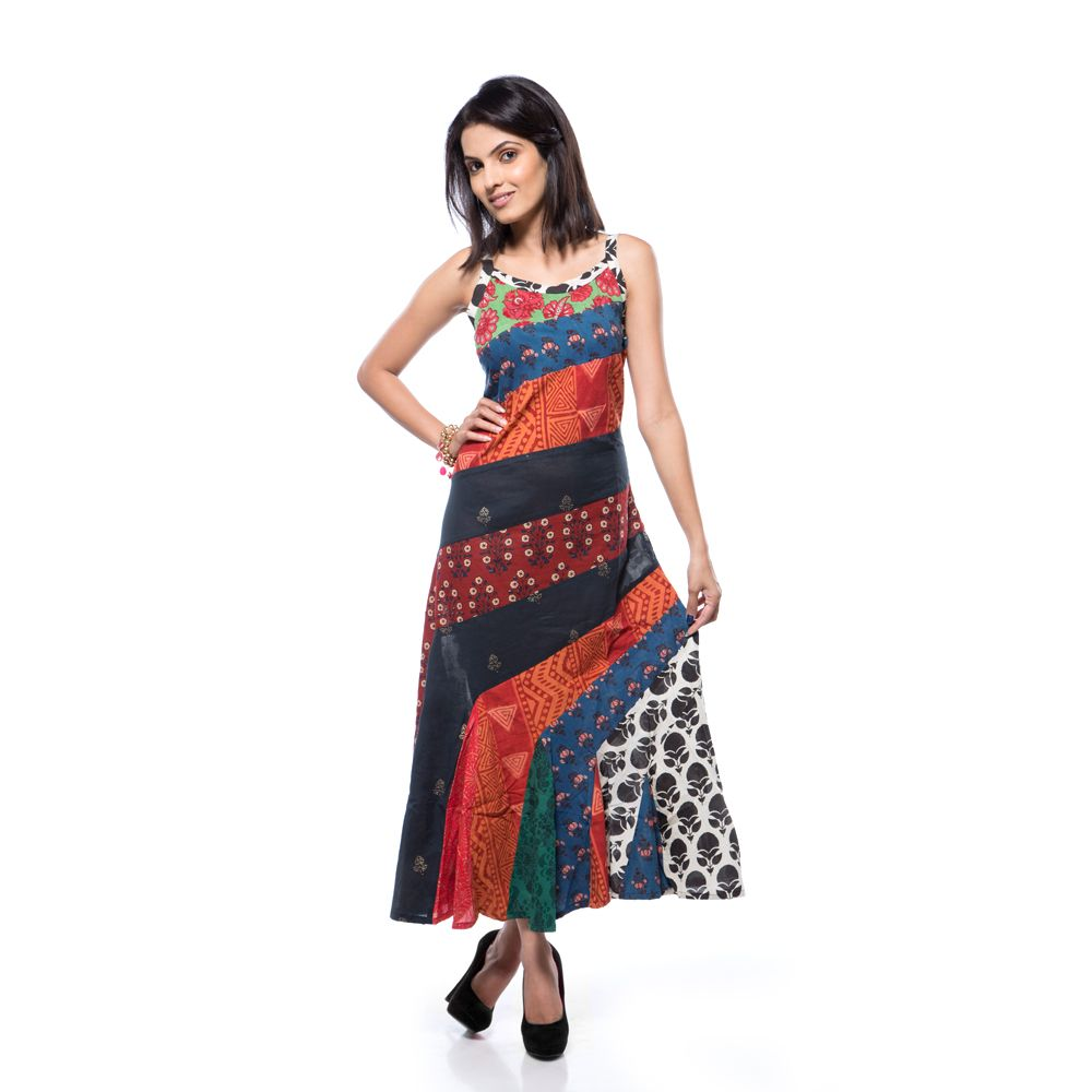 Free Spirit Patchwork Dress