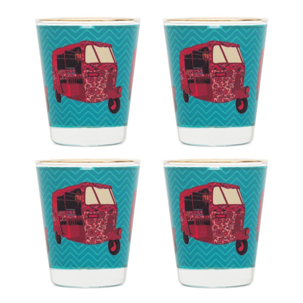 Funk on Road Shot Glasses (Set of 4)