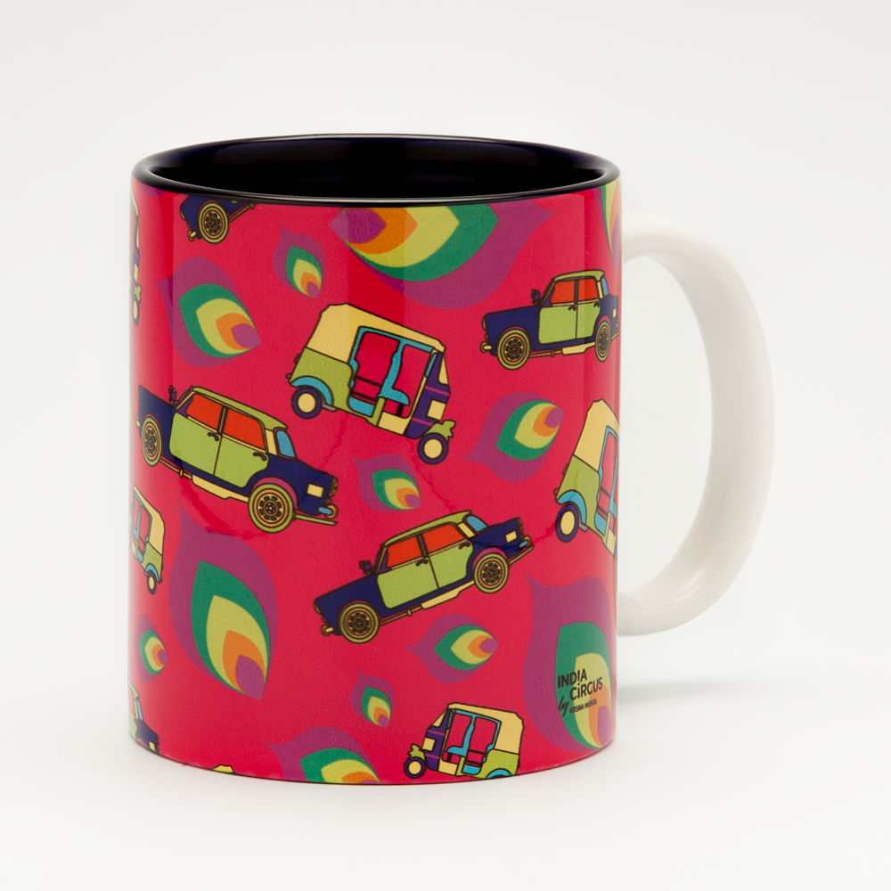 Funky Transport Mug