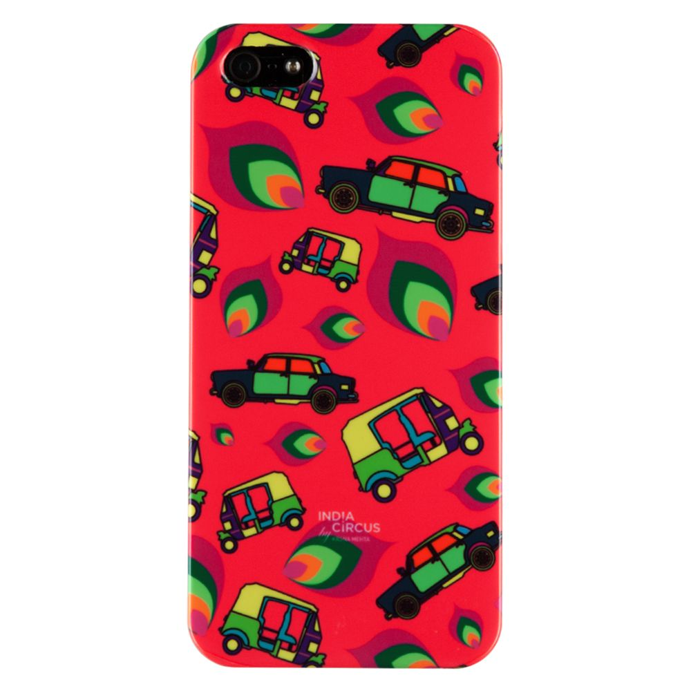 Funky Transport iPhone 5/5s Cover