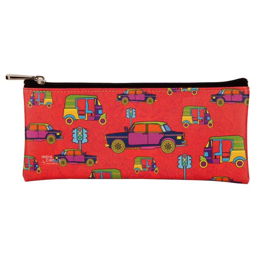 Funky Transport Small Utility Pouch