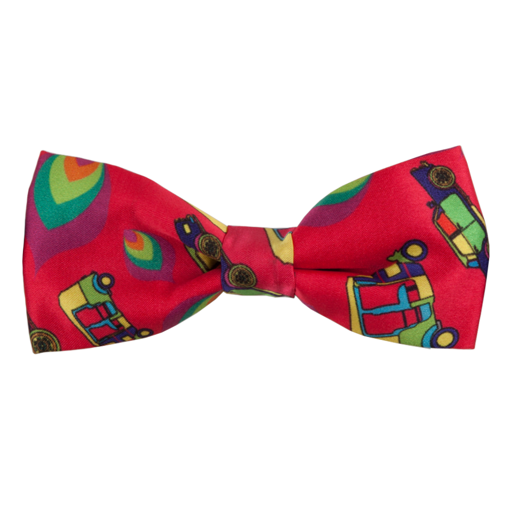 Funky Transport Bow Tie