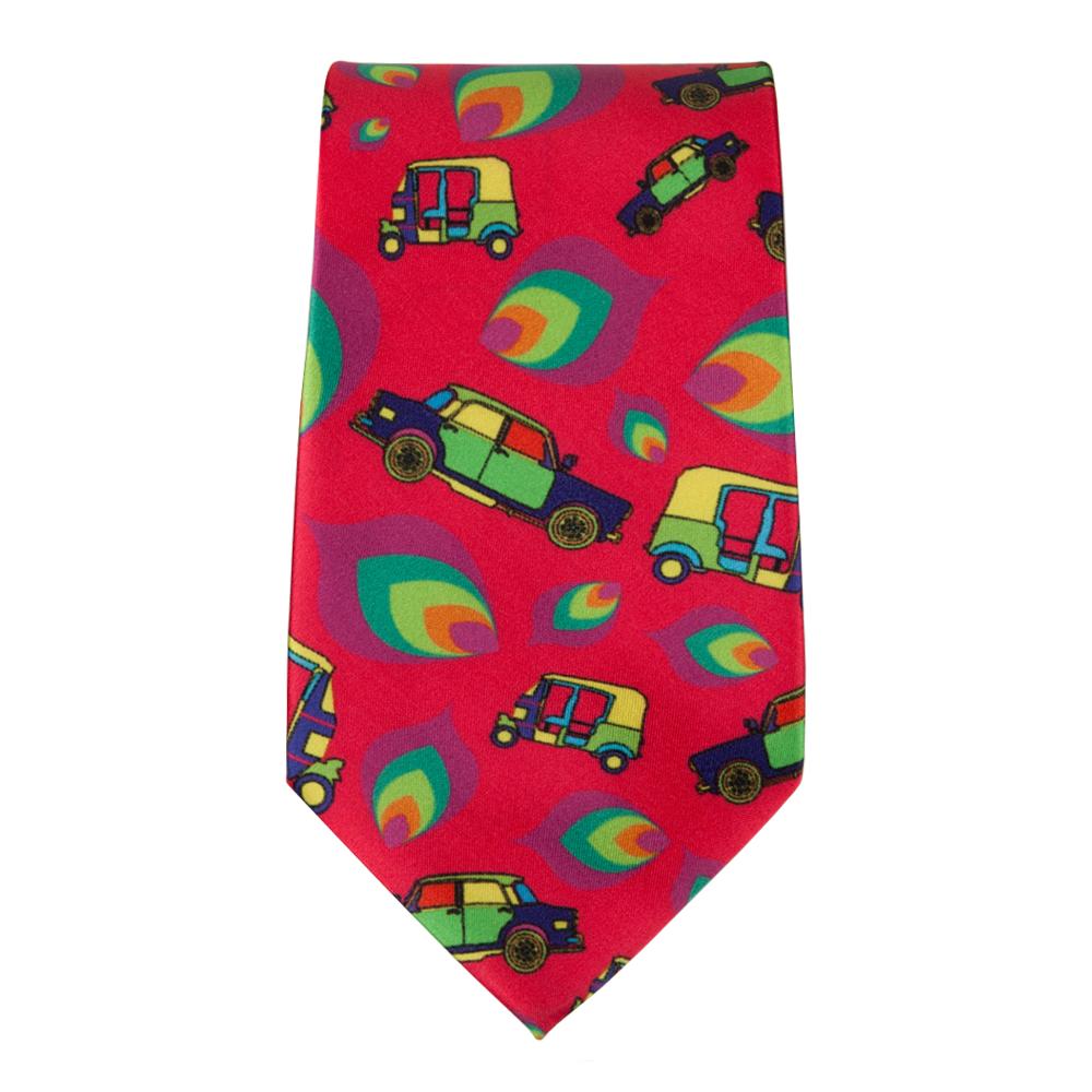 Funky Transport Tie