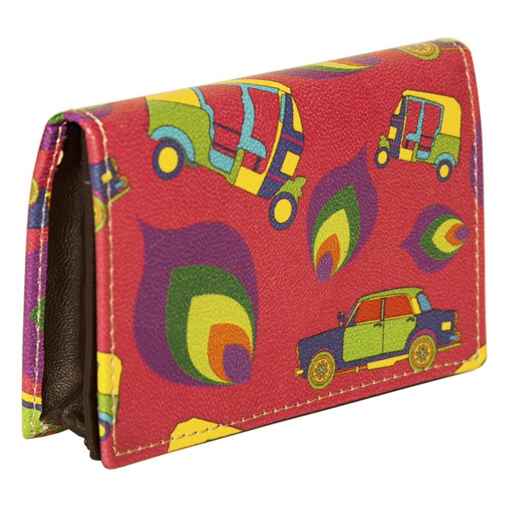 Funky Transport Visiting Card Pouch