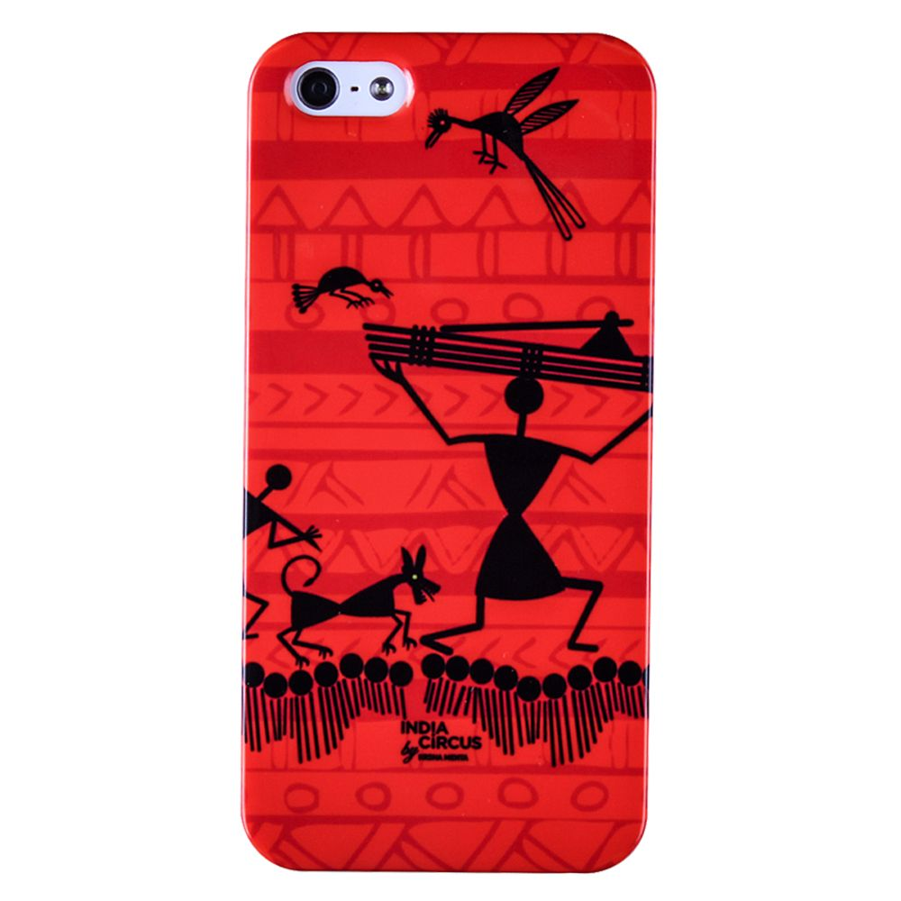 Funky Warli iPhone 5/5s Cover