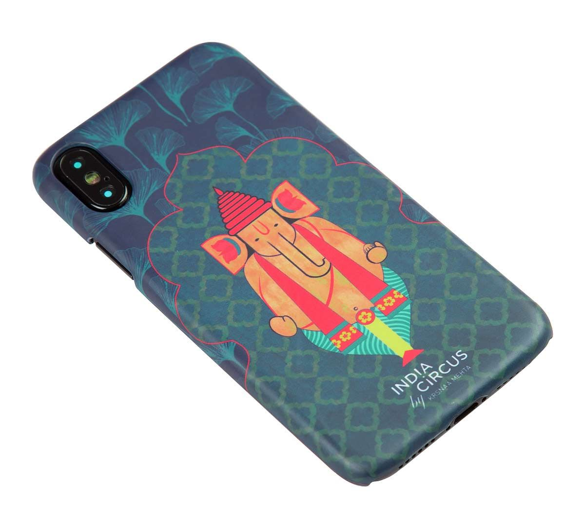 India Circus Ganeshas Riad Arch iPhone X Cover