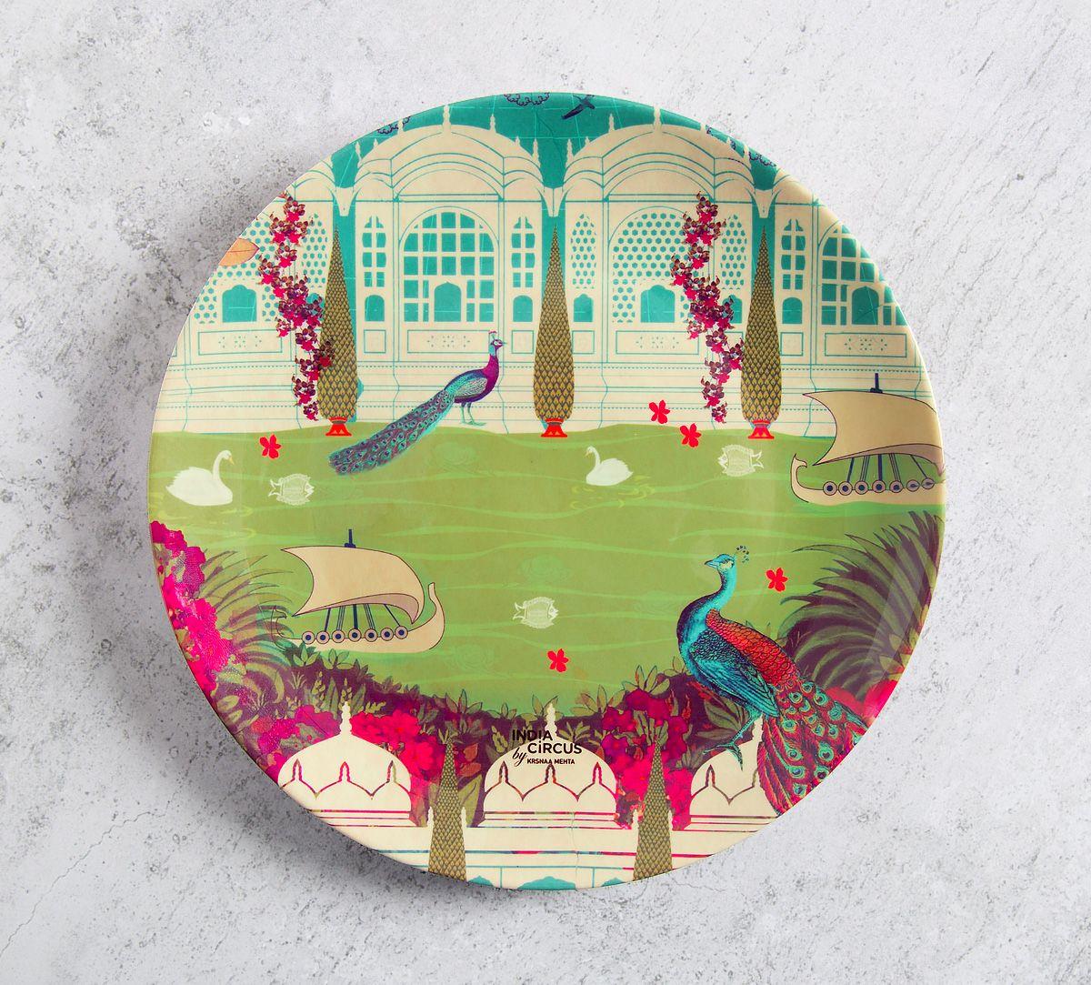Garden of ascendancy 8 inch Decorative and Snacks Platter