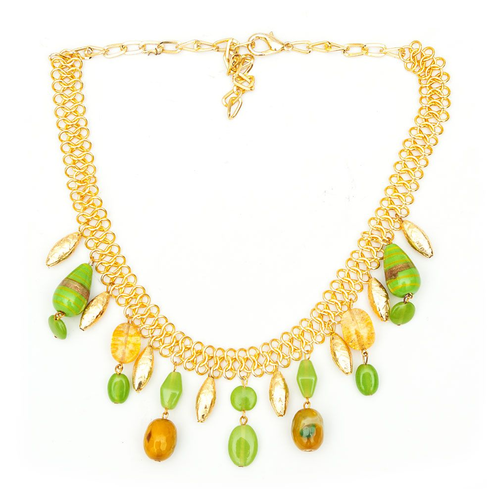 Green Goddess Neckpiece