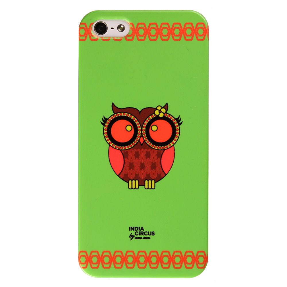 Green Owl Howl iPhone 5/5s Cover