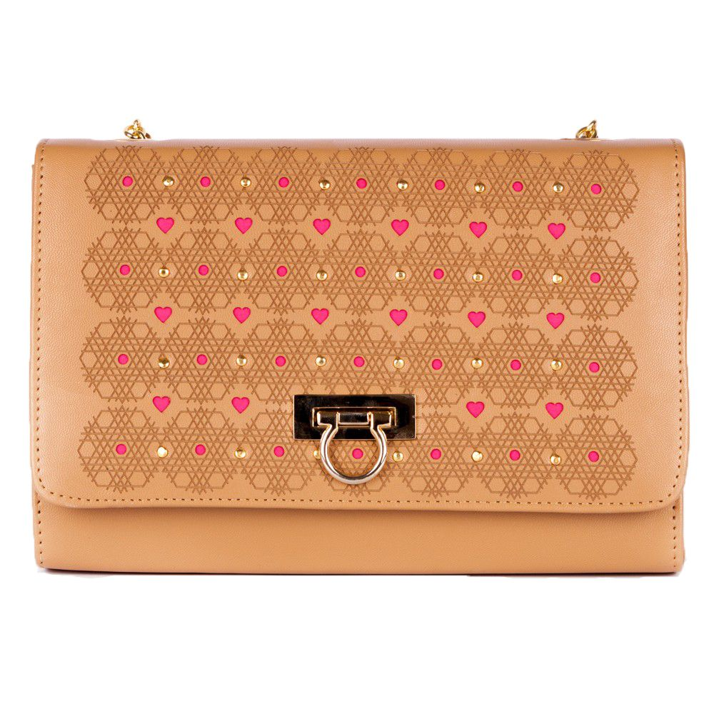 Hexagon Purse Pink