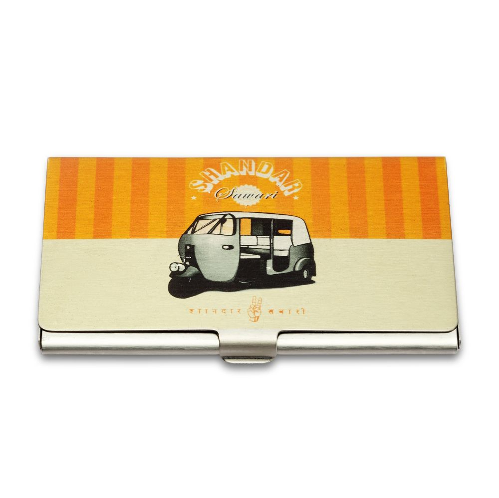 Jalebi Auto Rickshaw Fun Visiting Card Holder Buy Jalebi Auto