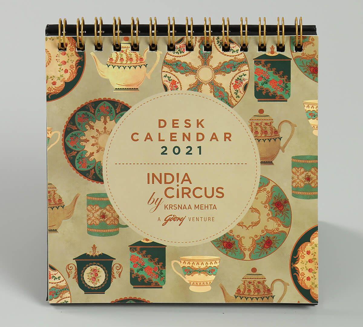 India Circus All About Tea Calendar