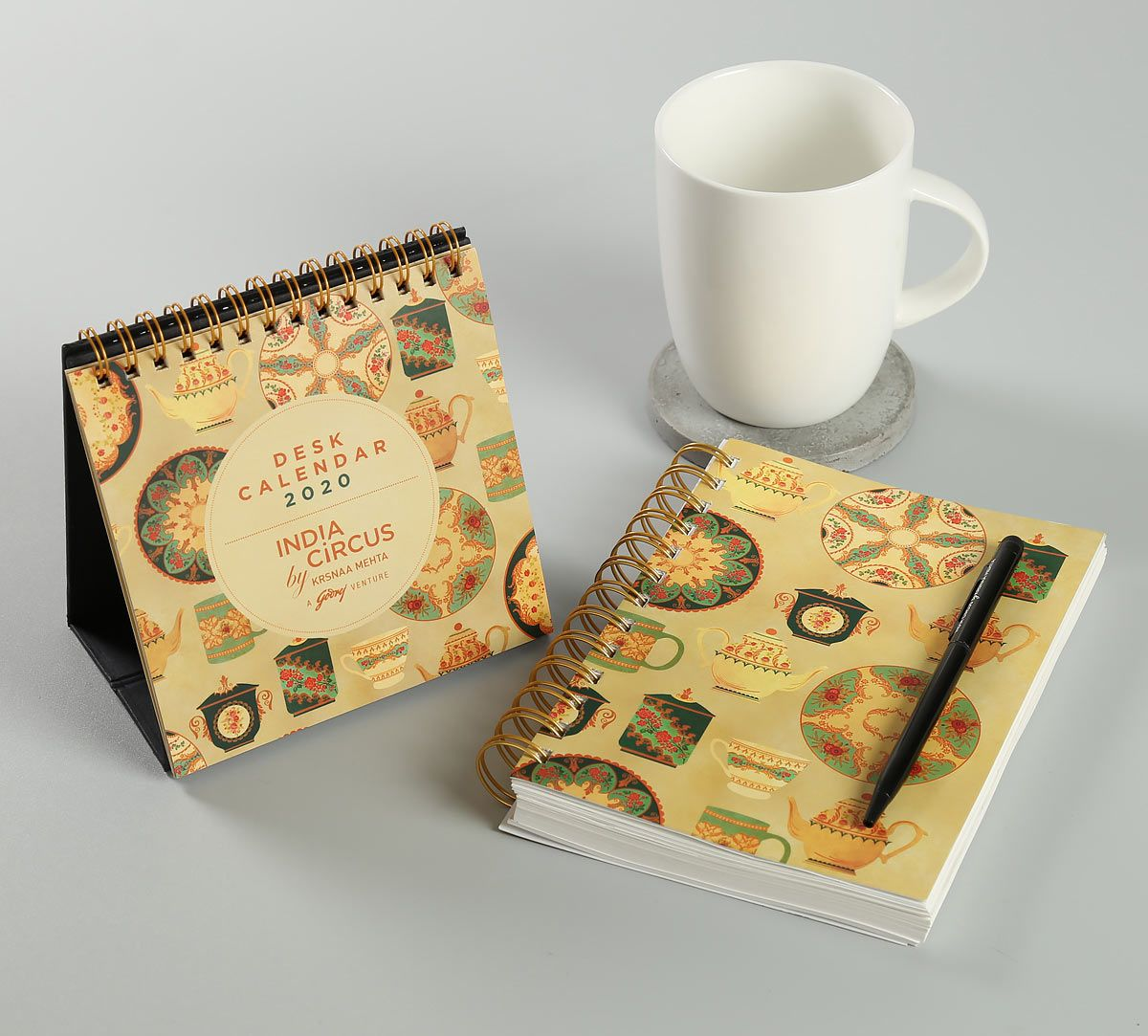 India Circus All About Tea Stationery Combo Set
