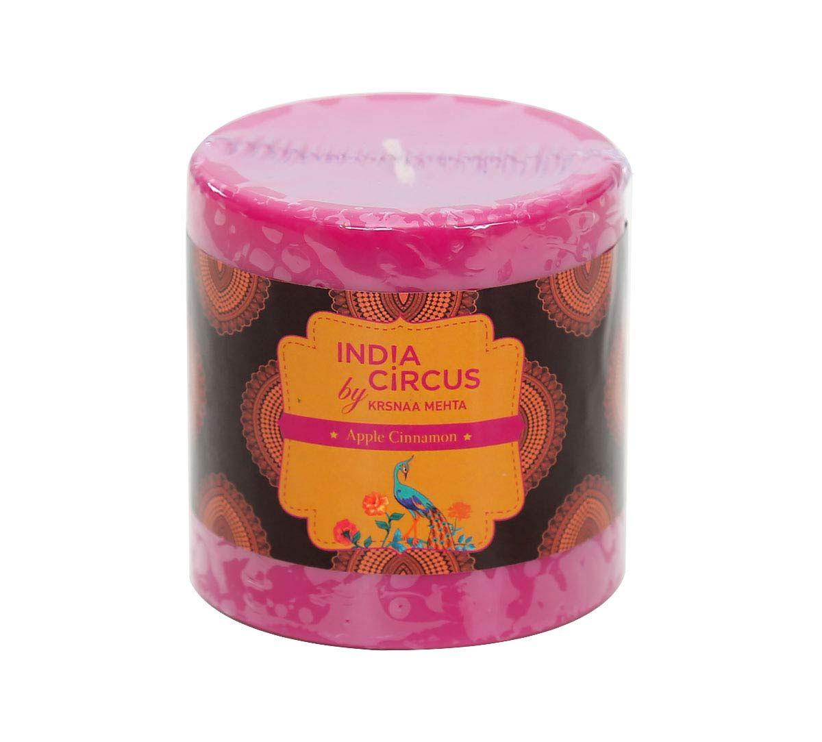 India Circus Apple Cinnamon Drum Candle