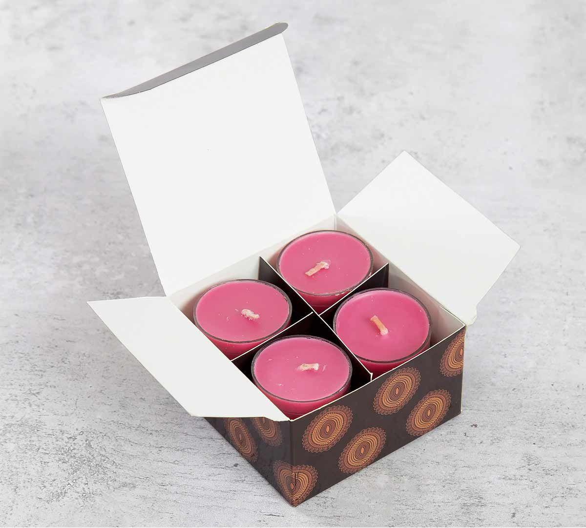 India Circus Apple Cinnamon Tea Light candles (Set of 12)