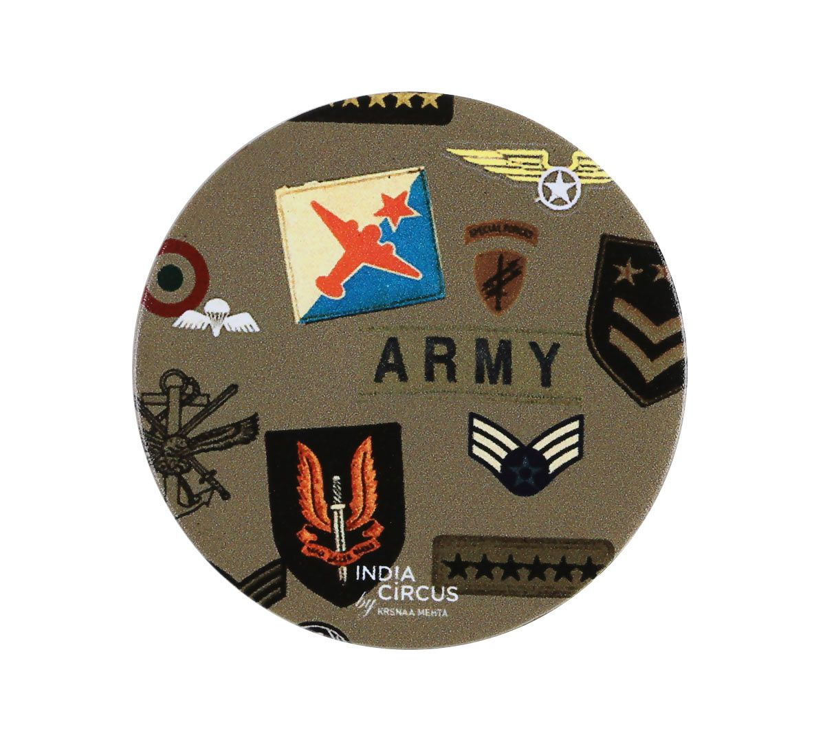 India Circus Army Badges Rush Popsocket