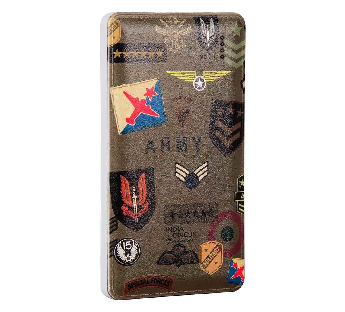 India Circus Army Badges Rush Power Bank