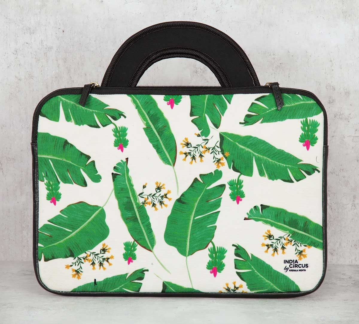 India Circus Banana Leaves 13-inch Laptop Bag