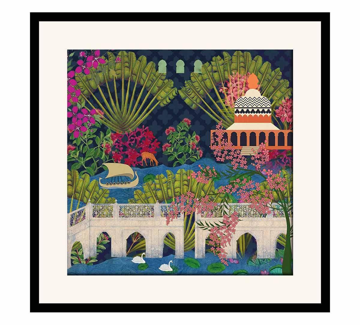 India Circus Banks of Silvassa Framed Wall Art