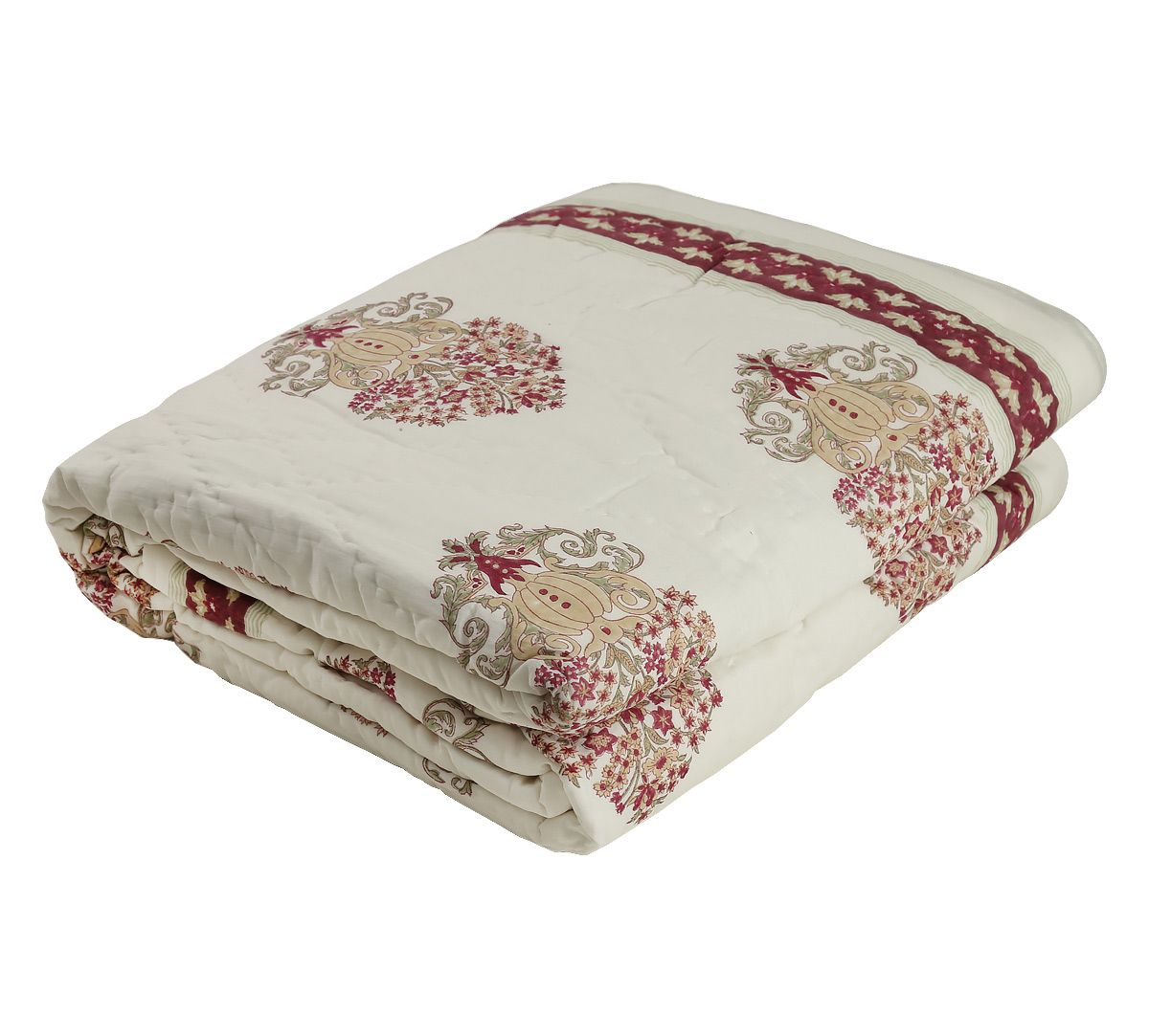 India Circus Baroque Floral Quilt