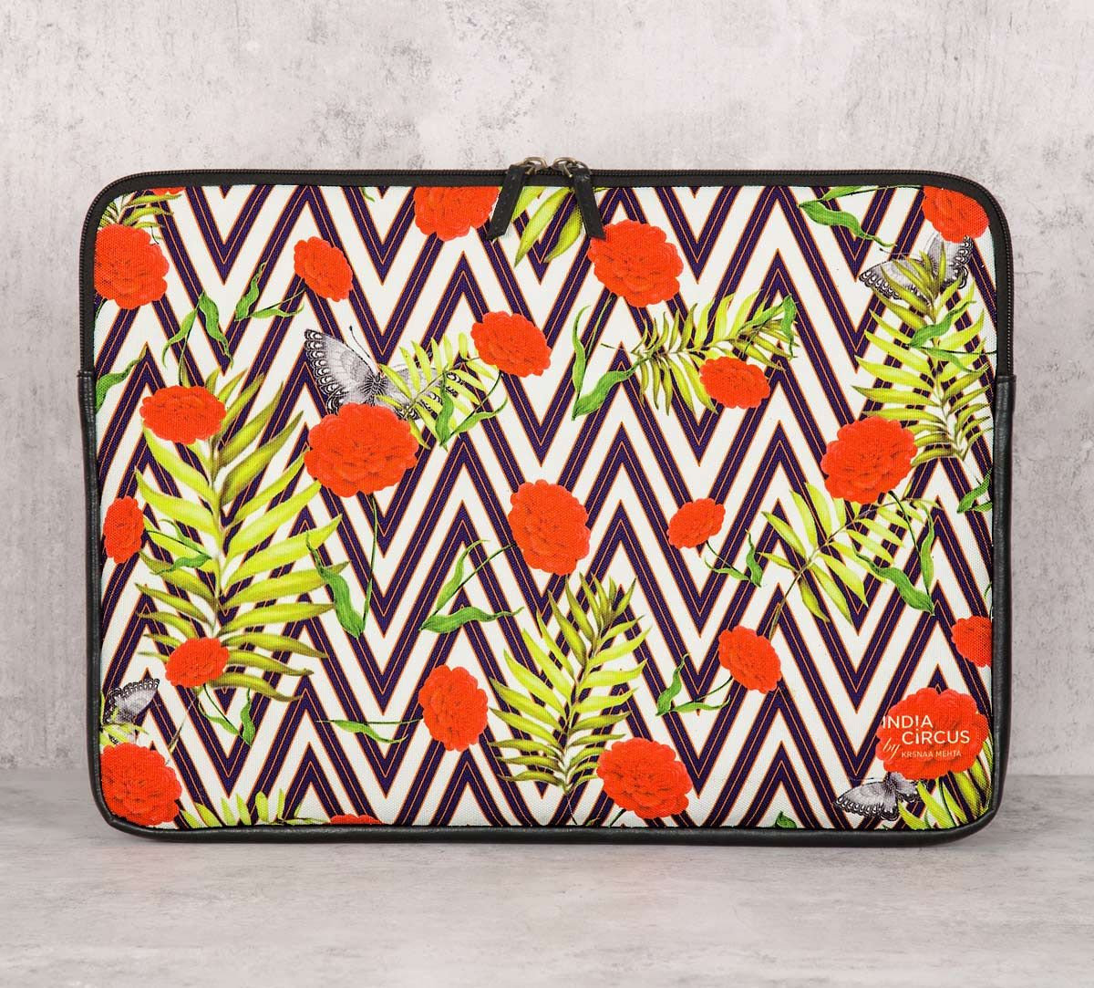 India Circus Bayrose Chevron Laptop Sleeve