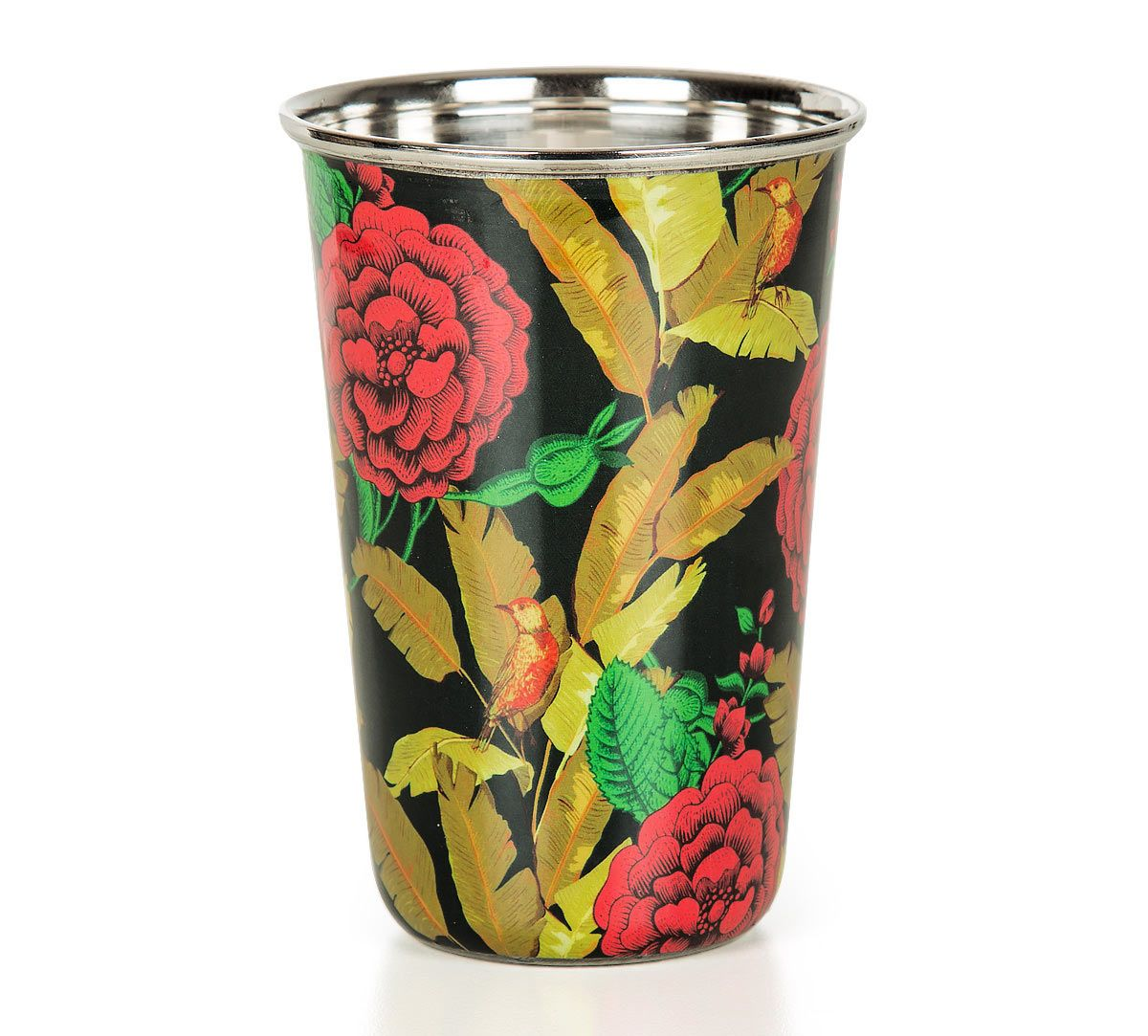 India Circus Bayrose Romance Steel Tumbler Set of 2
