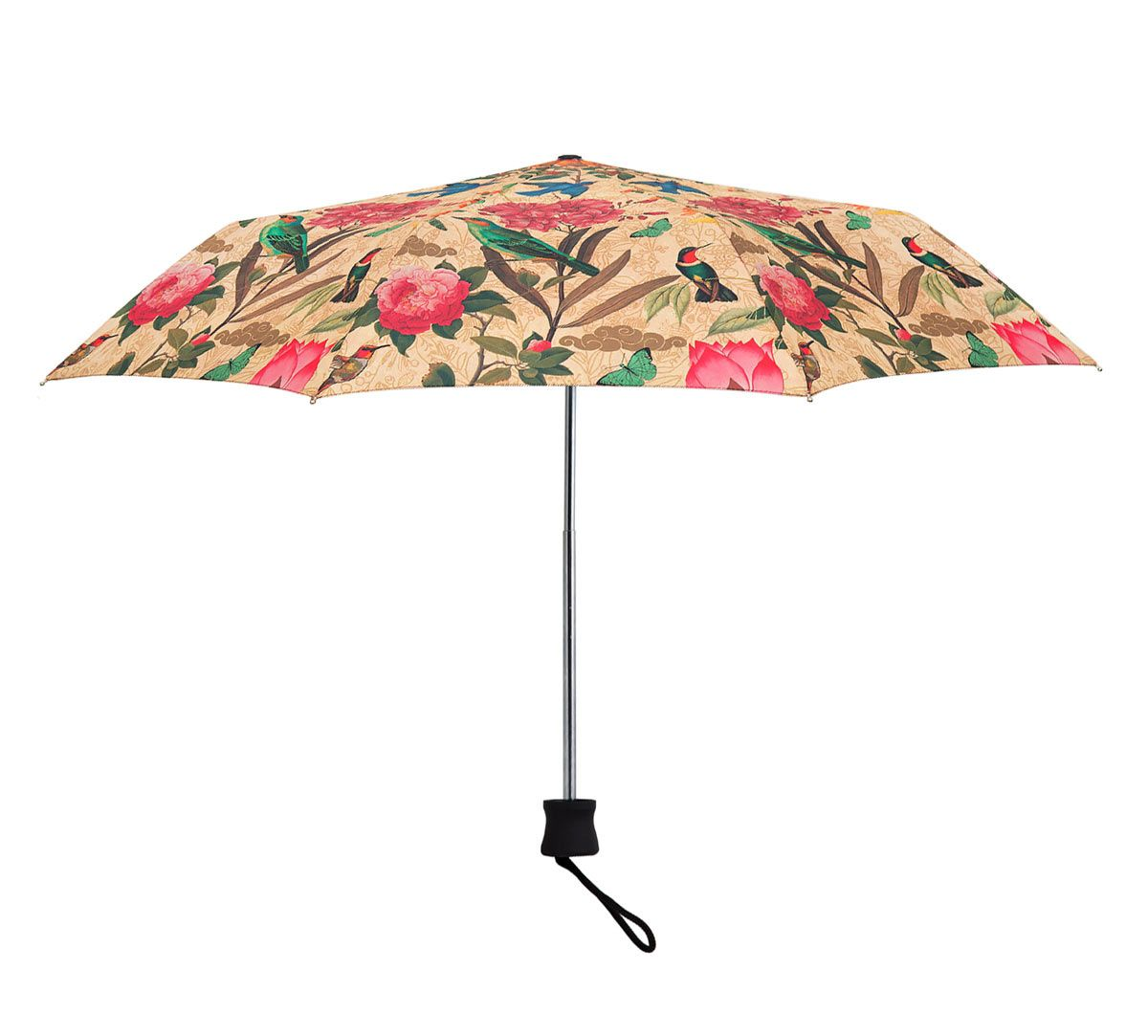 India Circus Bird Land 3 Fold Umbrella