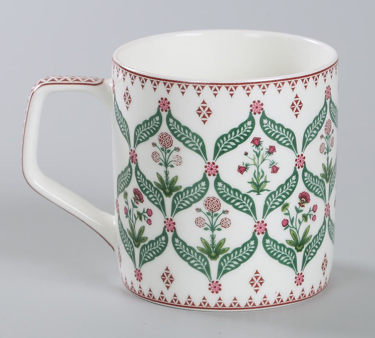 India Circus Blooming Dahlia Mug Set of 6