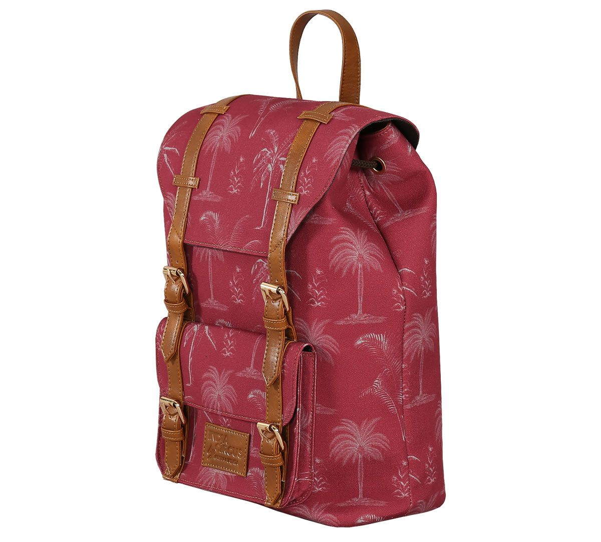 India Circus Blushed Palms Backpack