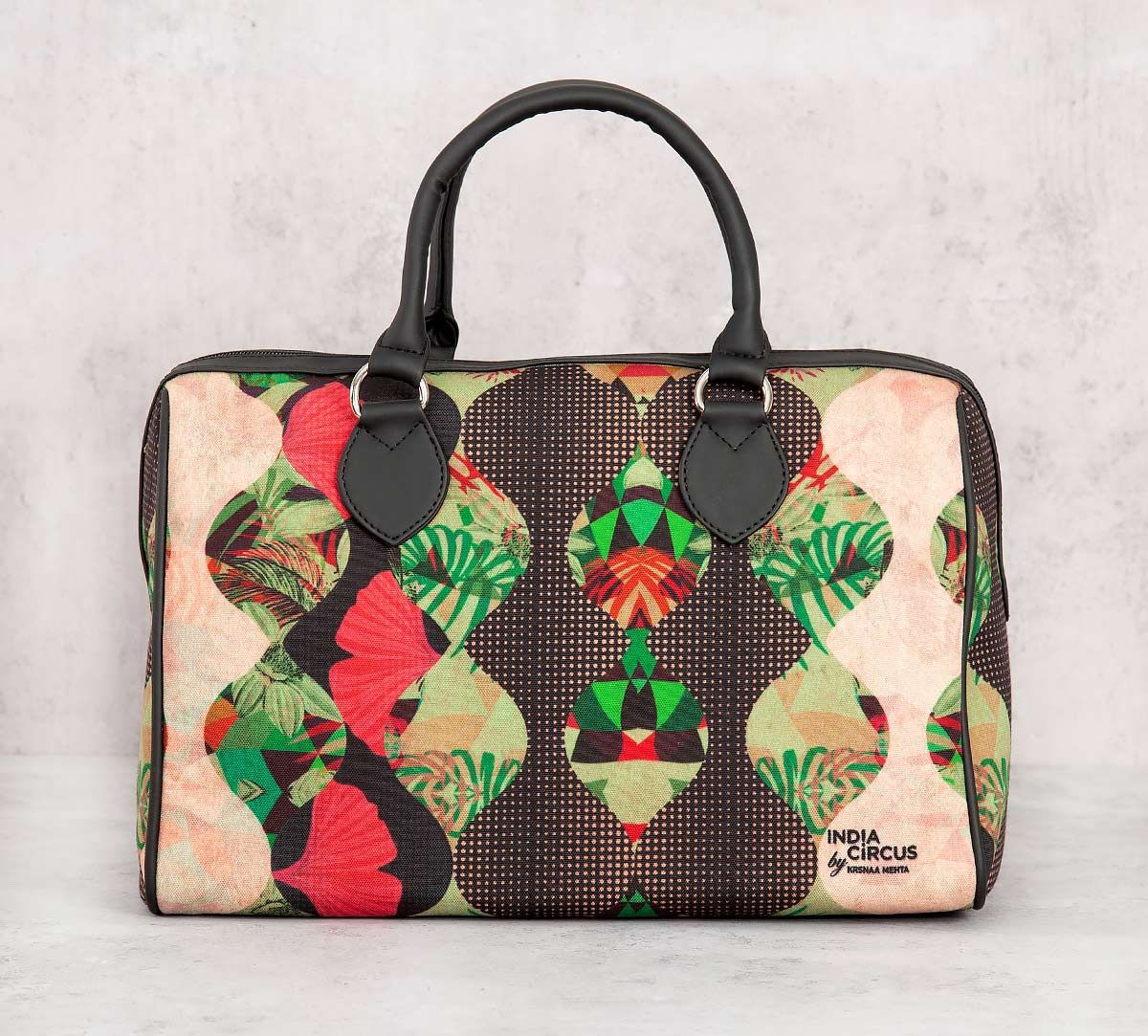 India Circus Bubbled Illusion Duffle Bag