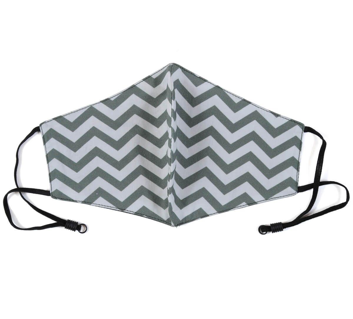 India Circus Chevron Melavo Comfortable Outdoor Face Mask