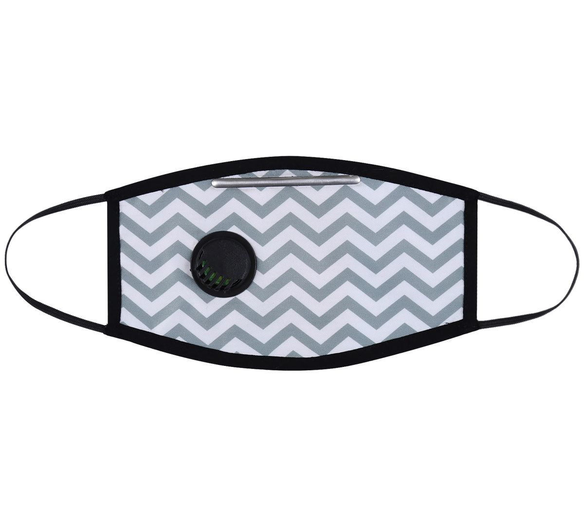 India Circus Chevron Melavo Protective Face Mask with Breathing Valve