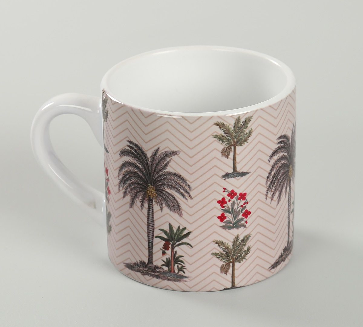 India Circus Chevron Palms Espresso Mug