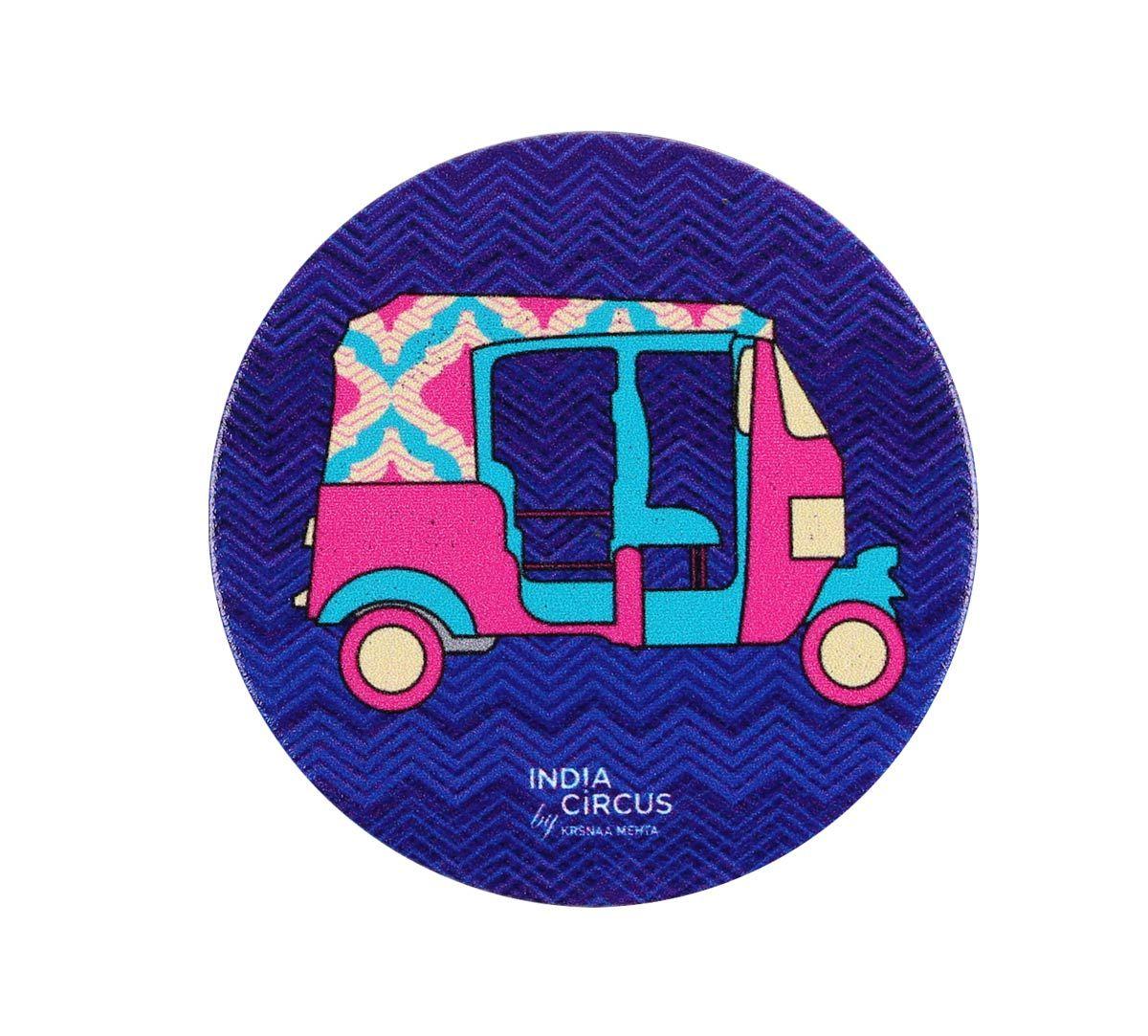 India Circus City Rickshaw Popsocket