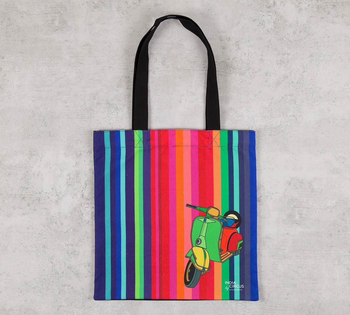 India Circus Colour Pop Scooter Jhola Bag