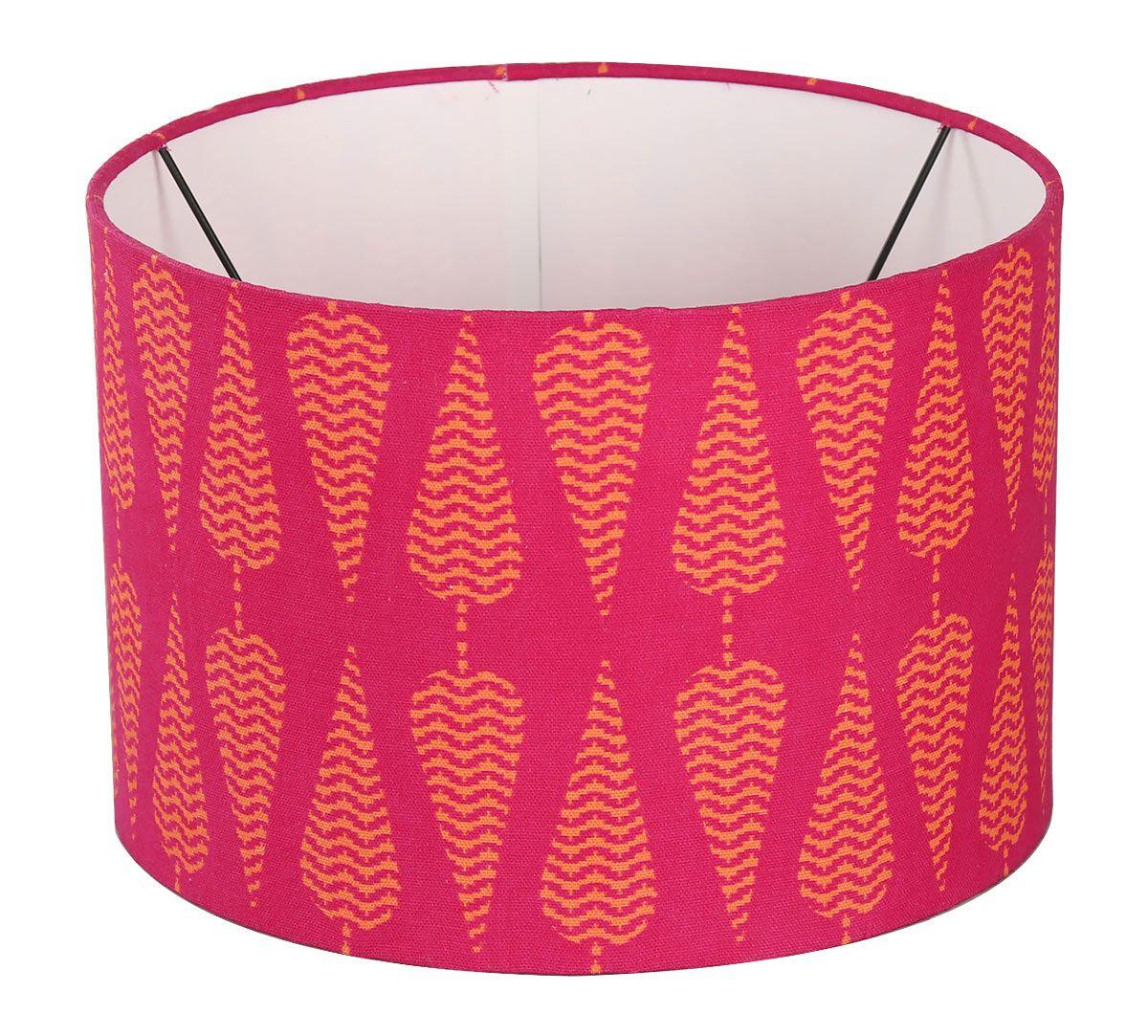 India Circus Conifer Spades Cylindrical Lamp Shade