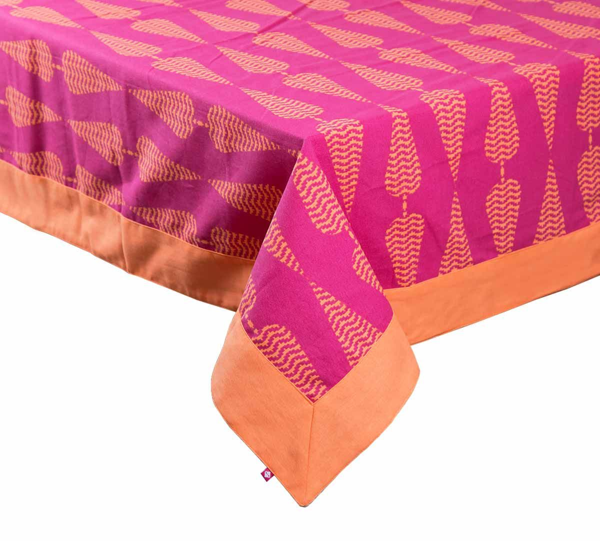 India Circus Conifer Spades Table Cloth