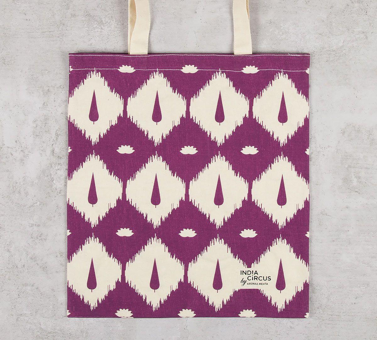 India Circus Conifer Symmetry Jhola Bag